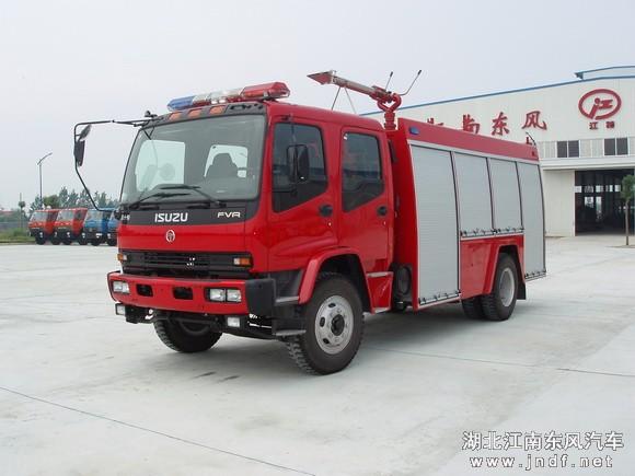 重庆五十铃水罐消防车(2吨)