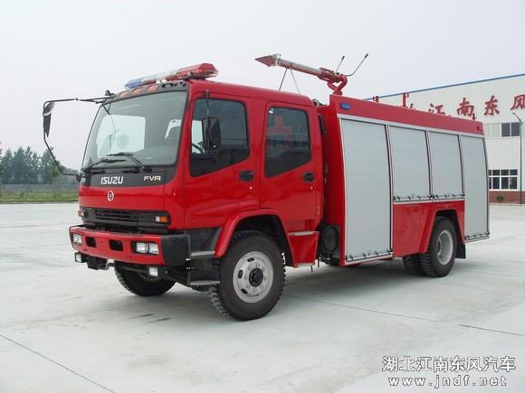 庆铃五十铃单桥水罐|泡沫消防车