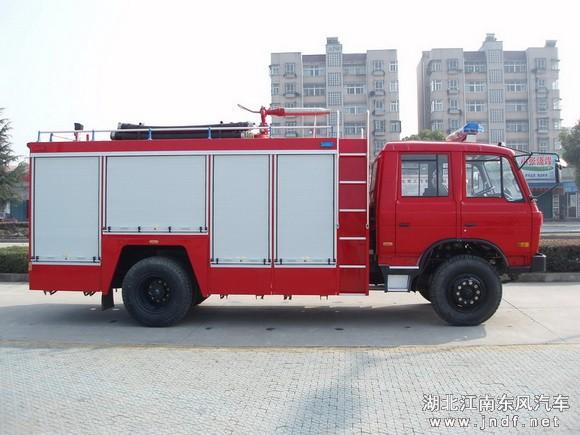 东风153泡沫消防车(5.5吨)