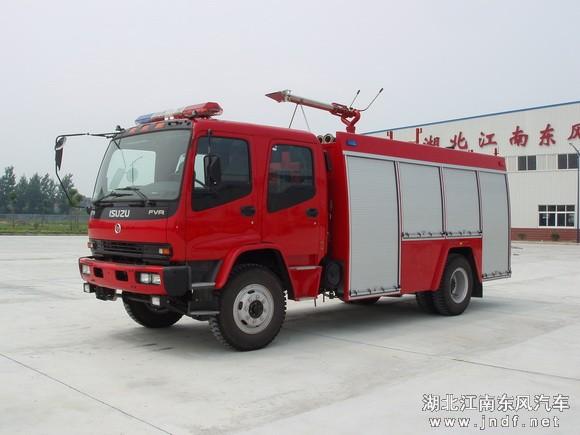 五十铃泡沫消防车(5吨)