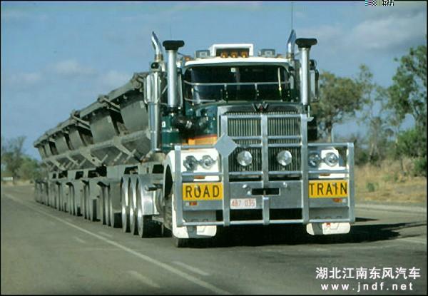 世界上最长的卡车80米-清障车 平板拖车 平板运输车