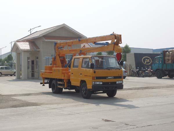 江铃双排座15米高空作业车