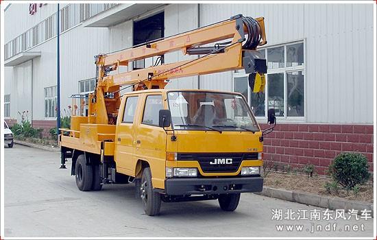 江铃14米双排座高空作业车