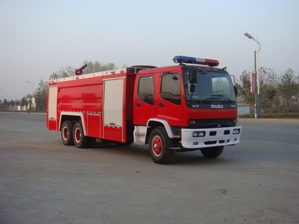 庆铃后双桥12吨泡沫消防车