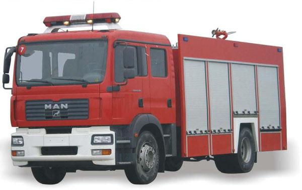北方奔驰水罐泡沫消防车(12吨)